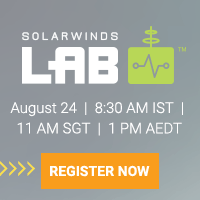 SolarWinds Lab