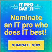 IT Pro Day Nomination