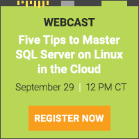 Five Tips to Master SQL Server on Linux in the Cloud